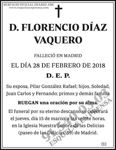 Florencio Díaz Vaquero